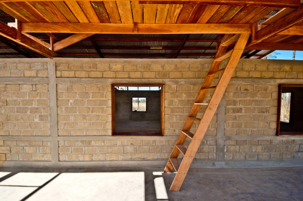 Compressed Earth House : The way i zee revealing potential of compressed earth