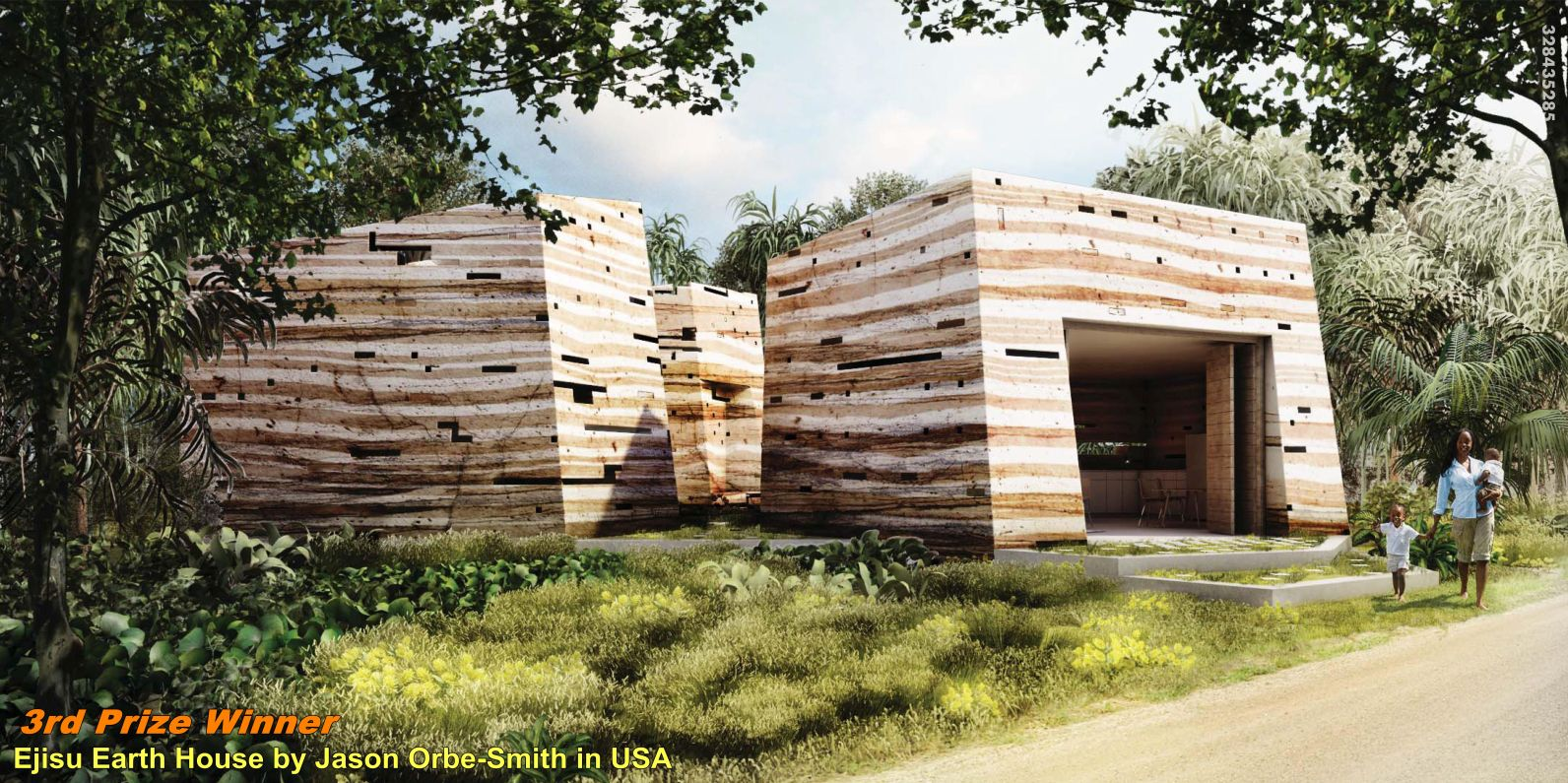 Nka foundation announces the winners of the mud house design 2014 competition for ghana
