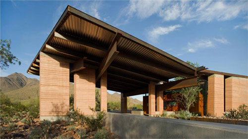 Rammed earth page 3 earth architecture for Scottsdale architecture firms