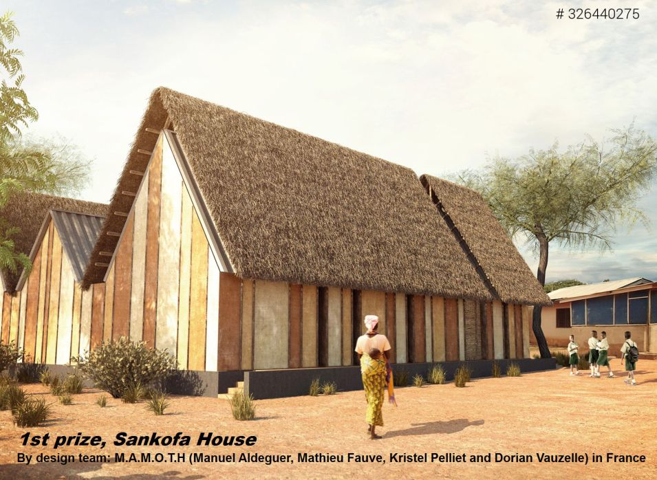 Nka Foundation Announces The Winners Of The Mud House Design 2014